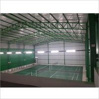 Badminton Court Roofing Shed