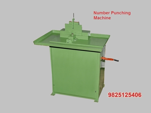 Number Punching Machine