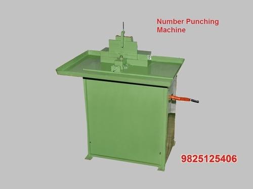 Number Punching Machine