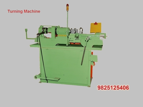 Double Head Turning And Threading Machine