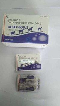 Ofloxacin IP 1200mg+ Serratiopeptidase IP 75mg