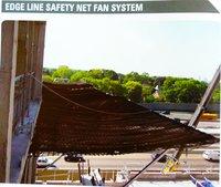 EDGE LINE SAFETY NET FAN SYSTEM