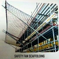SAFETY FAN SCAFFOLDING