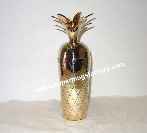 Brass Cocktail Shaker