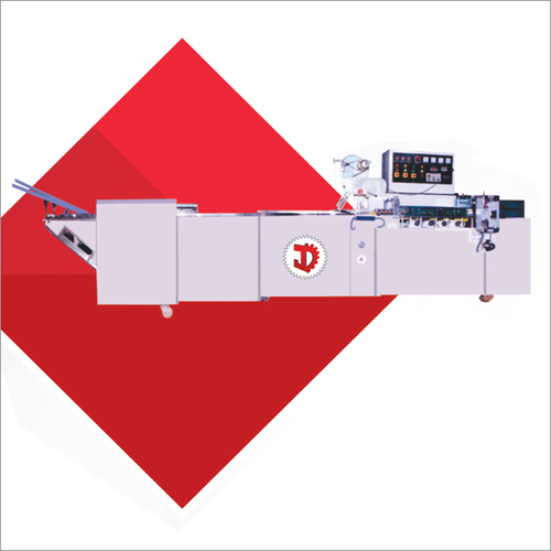 One Edge Biscuit Packaging Machine With Double Servo Feeder