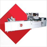 One Edge Packaging Machine With Cream Biscuit Feeder