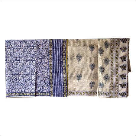 Hand block Ladies Block Printed Saree