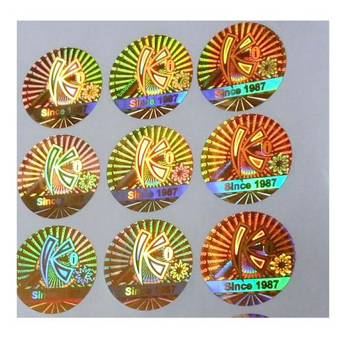Dot-Matrix Hologram Stickers