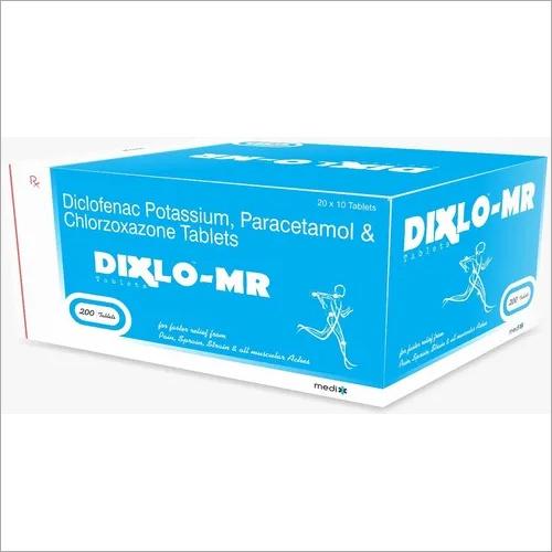 Diclofenac, Paracetamol & Chlorzoxazone Tablet