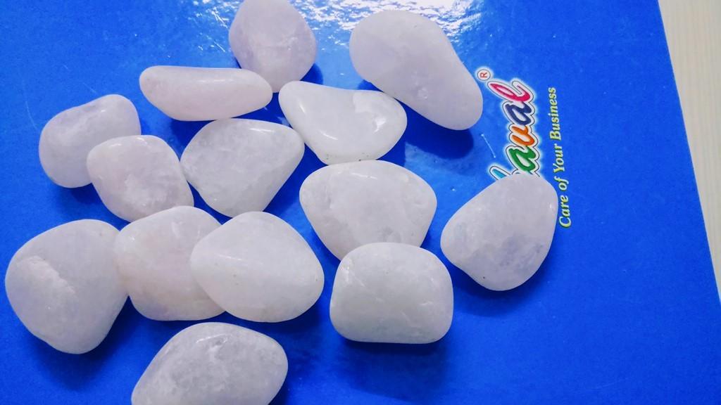 Gemstone Rose Quartz Polished Pebble Stone Price Per Ton