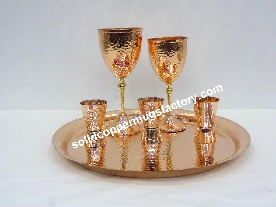 Bar Copper Tray