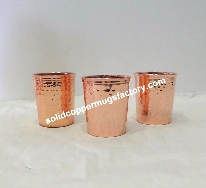 Solid Copper glass