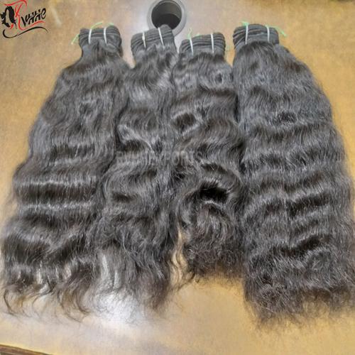 Natural Indian Virgin Raw Temple Virgin Human Hair
