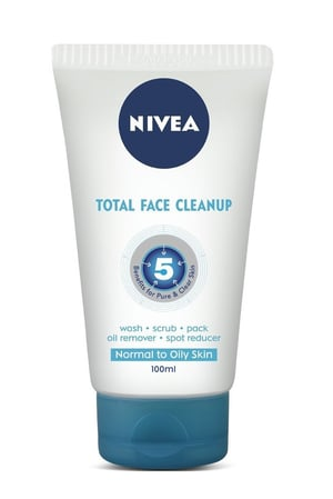 Nivea Total Face Cleanup 100ml
