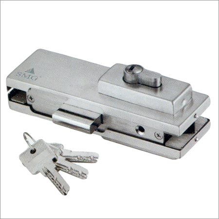Corner Patch Lock With Strike Plate