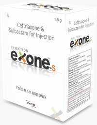ceftriaxone 1gm + salbactum 500mg