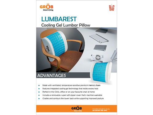 Lumbarest Cooling Gel Pillow