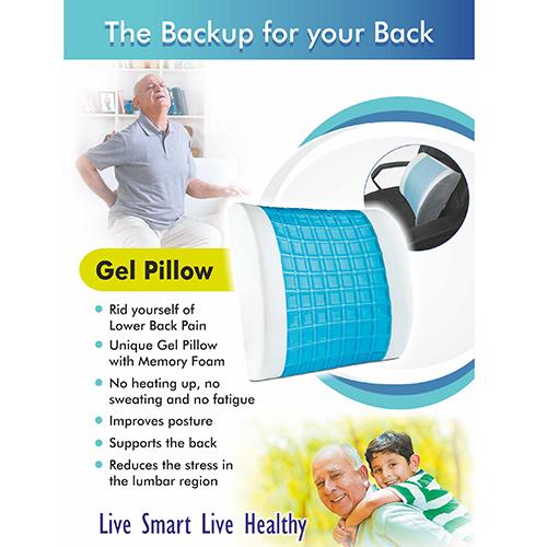 Lumbarest Cooling Gel Pillow
