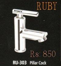 RUBY PILLAR COCK