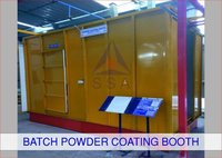 Batch Powder Coating Booth