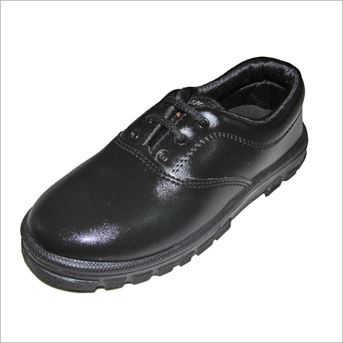 Boys Black School Shoes