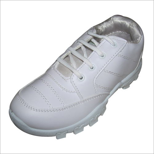 Boys White School Shoes