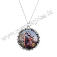 GLASS LOCKET