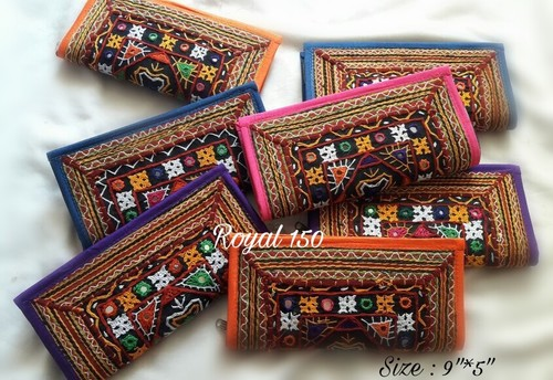 Clutches in kutch embroidary