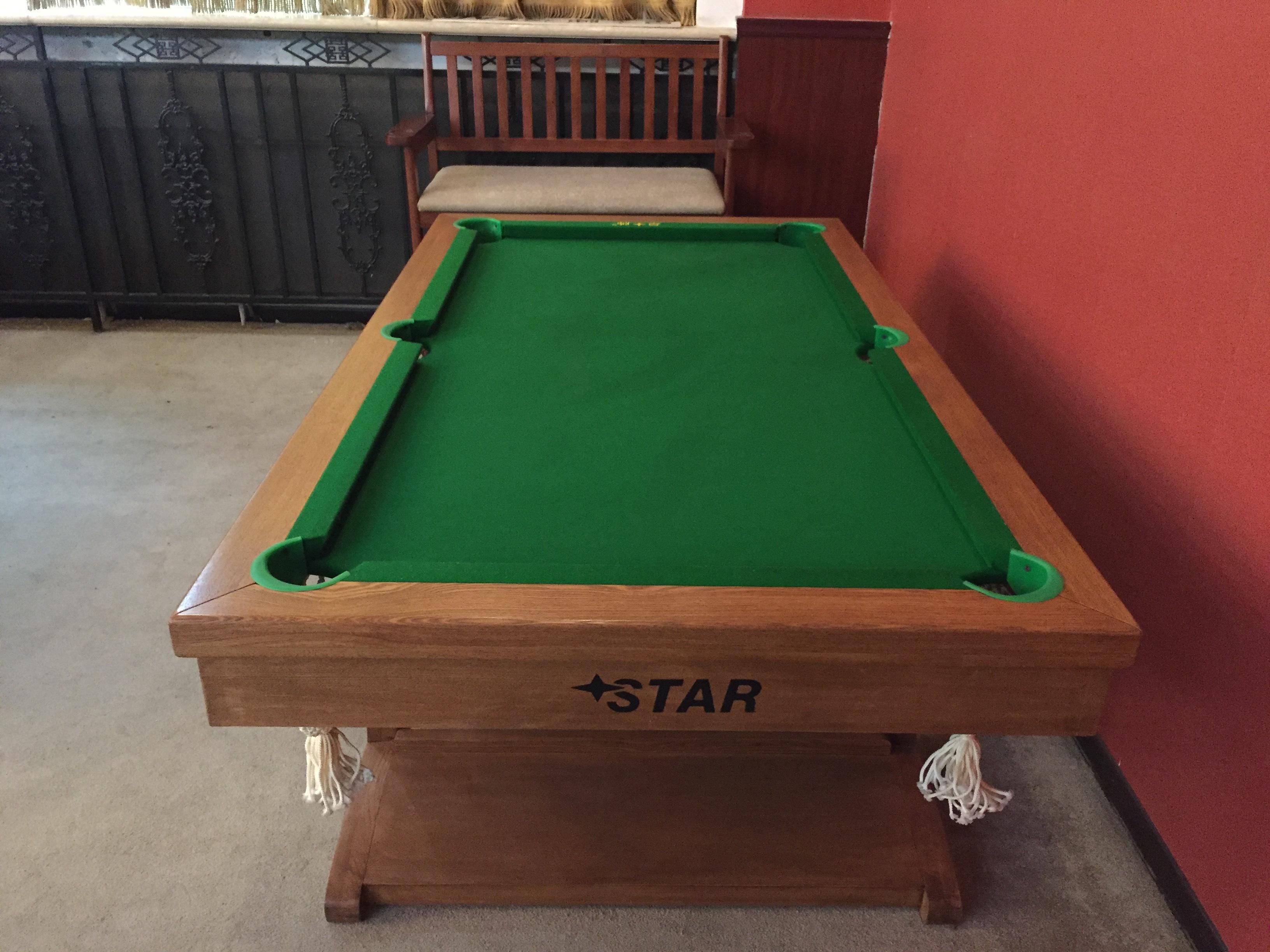 Folding Billiard Tables