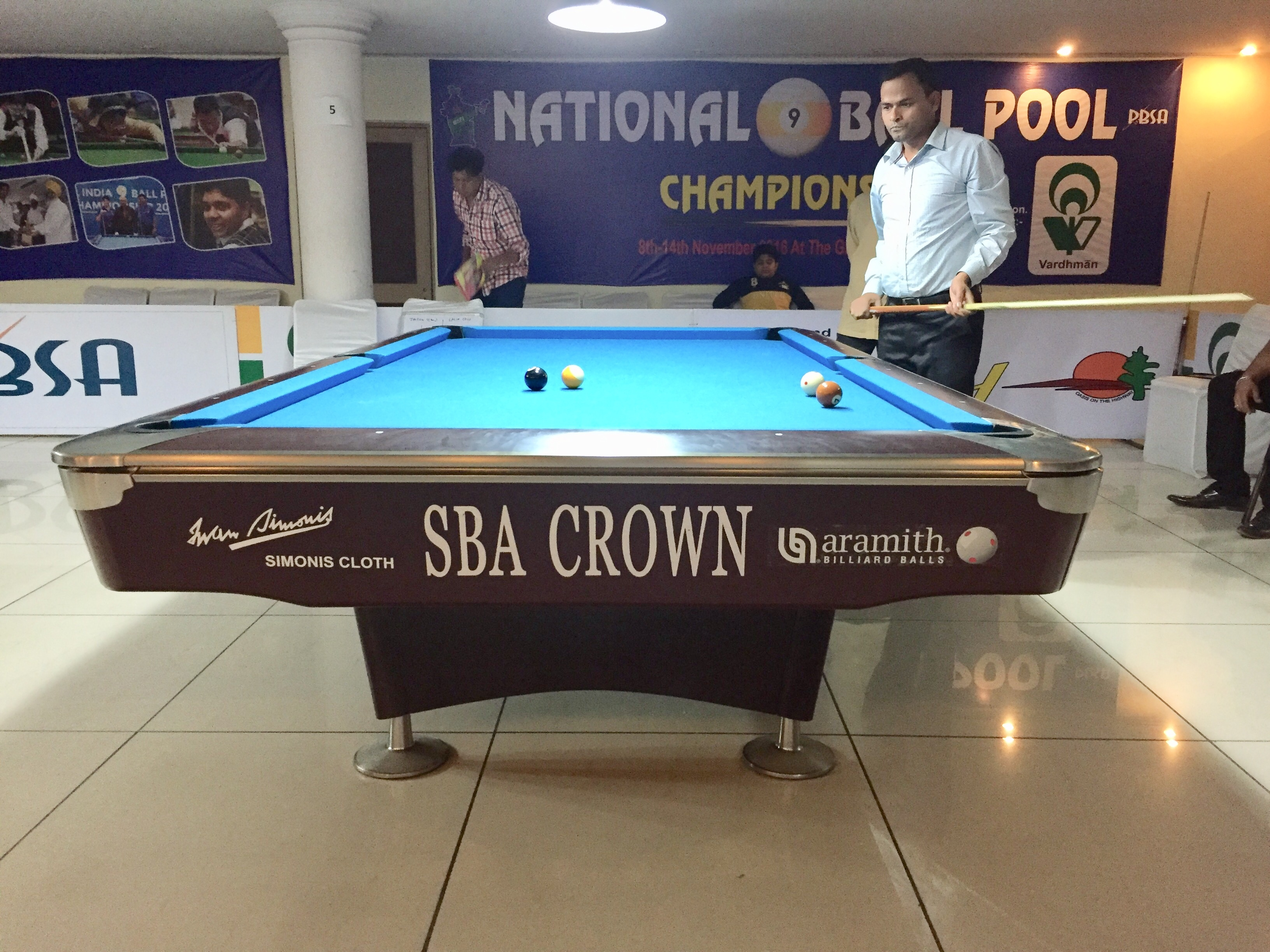 SBA Crown 7' Imported American Pool Table