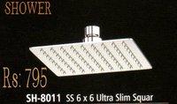 SS 6*6 ULTRA SLIM SQUAR SHOWER