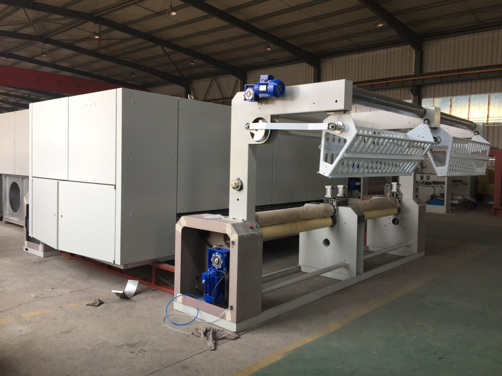 Textile Heat Setting Machine for Chemical Fiber Textile Machinery