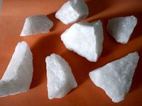 Indian cheap price good quality snow white quartz lumps lumps row
