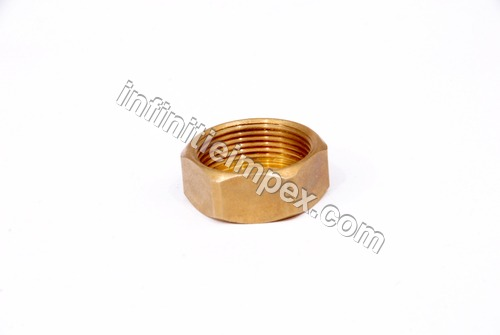Brass Bend Pipe Nut