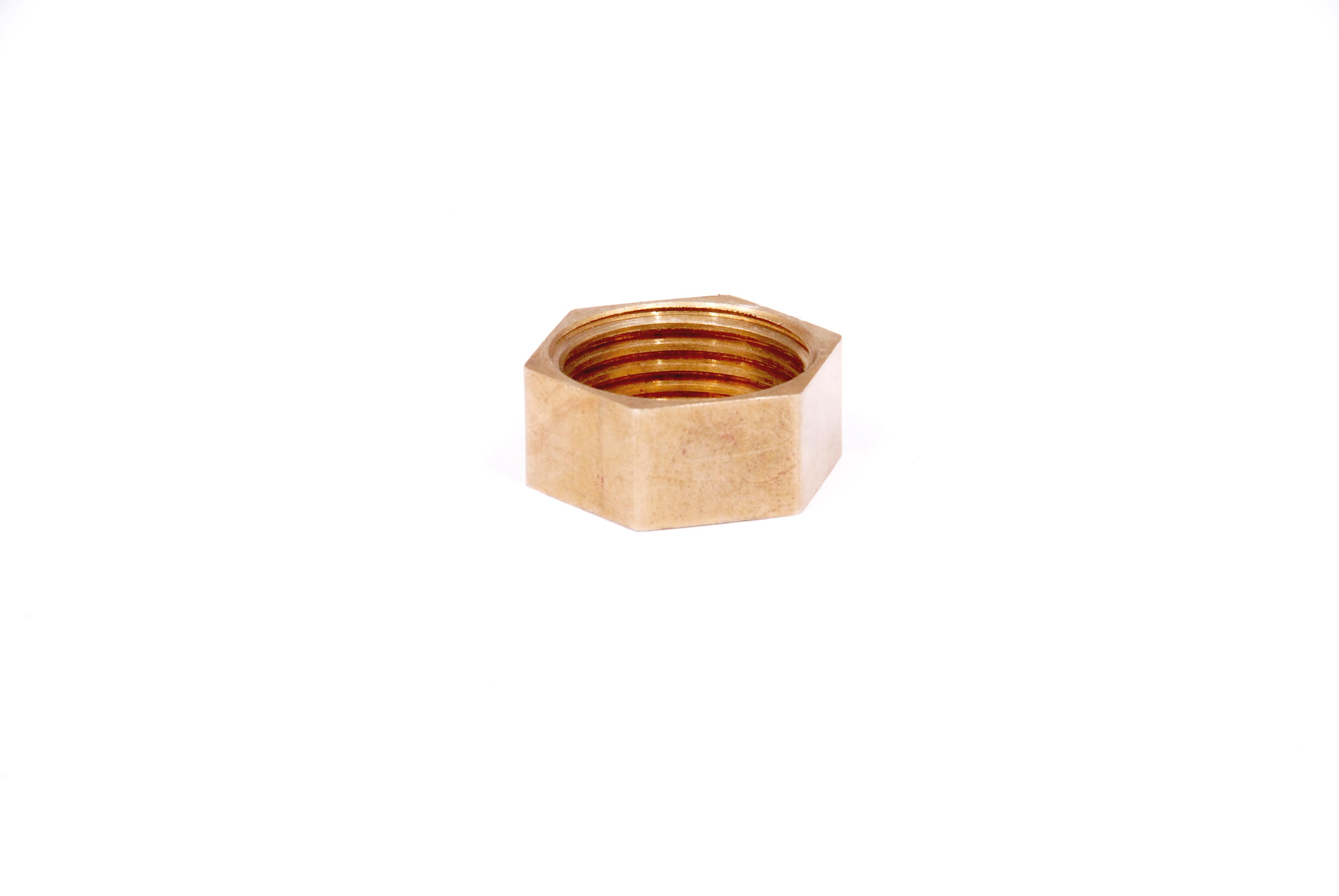 Brass Bend Pipe Nut