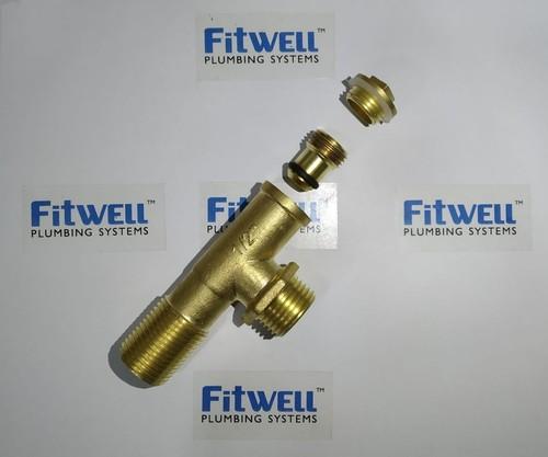 Brass Ferrule Cock