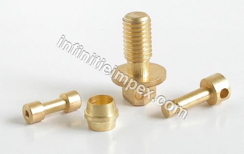 Brass CNC Components
