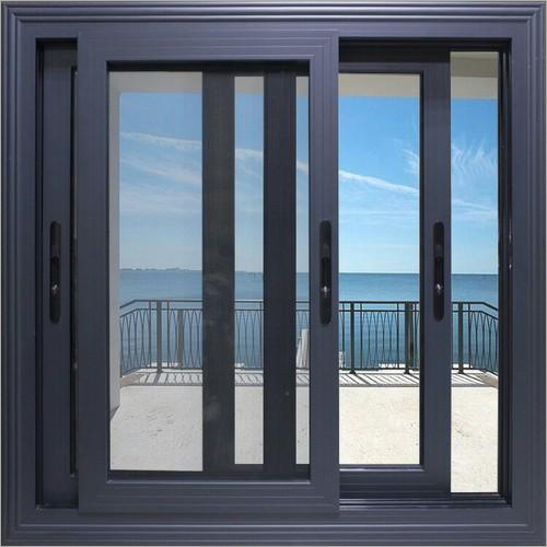 Aluminum 3 Track Domal Windows