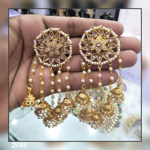 Polki Earrings
