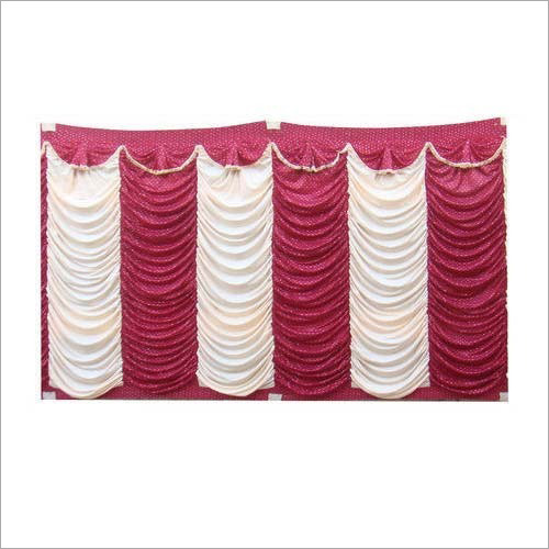 Wedding Colored Sidewall Tent