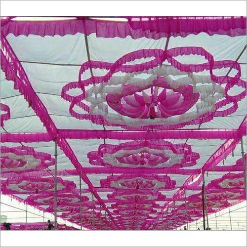 Decorative Wedding Sidewall Tent