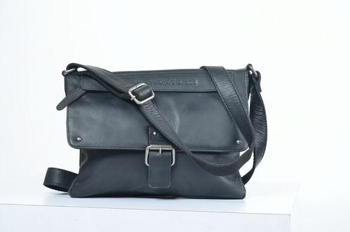 Leather leather sling style bag