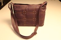 Brown Leather Ladies Handbag