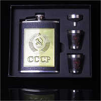 Hip Flask Gift Set Box