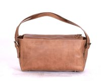 Camel Brown Leather Bag