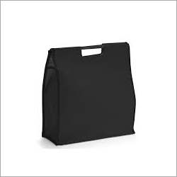 Plain Non Woven Wooden Handle Bag