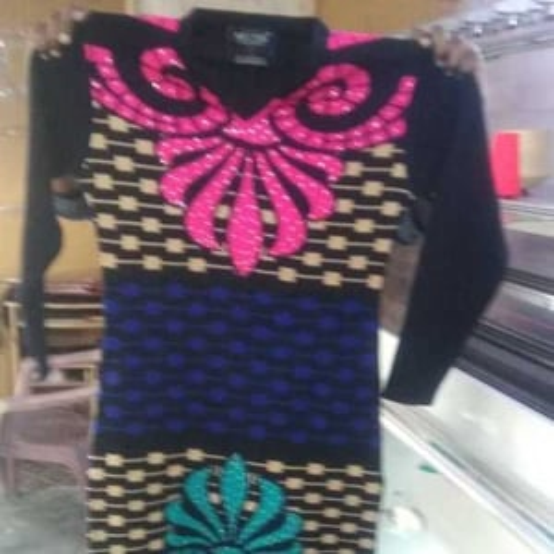 Ladies Multicolour woolen Kurti