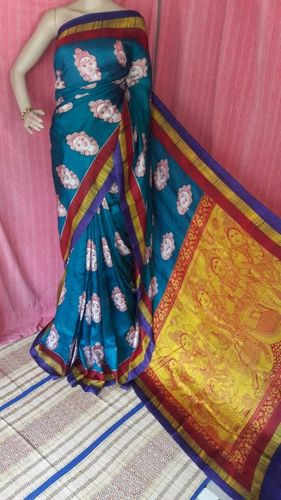 Exclusive Digital Tassar Saree