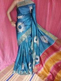 Designer Digital Tassar Saree