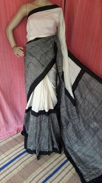 Designer Digital Tassar Saree